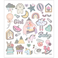 Creativ-Sticker Baby-Girl