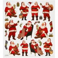 Creativ-Sticker Klassischer Weihnachtsmann