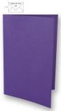 5x Doppelkarten A6 violett (Rayher)