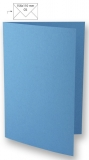 5x Doppelkarten A6 azurblau (Rayher)