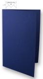 5x Doppelkarten A6 nachtblau (Rayher)