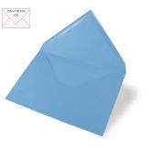 5x Umschläge C6 azurblau (Rayher)