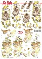 3D-Bogen Osterhasen von LeSuh (8215320)