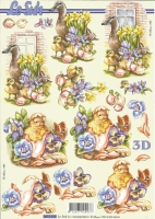 3D-Bogen Enten und Küken von LeSuh (8215230)