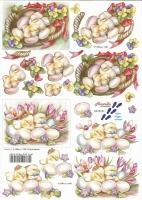 3D-Bogen Osterküken von LeSuh (8215181)
