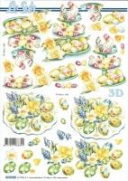 3D-Bogen Ostereier von LeSuh (8215530)