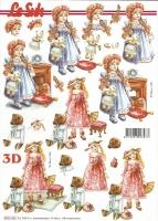 3D-Bogen Puppen, nostalgisch von LeSuh (8215453)