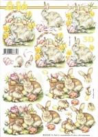 3D-Bogen Osterhasen von LeSuh (8215529)