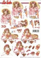 3D-Bogen Puppen von LeSuh (8215553)