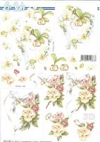 3D-Bogen Blumenherz mit Ringen von LeSuh (8215589)