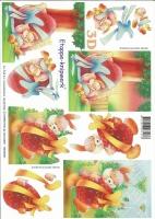3D-Bogen Osterhase und Ei von LeSuh (4169153)