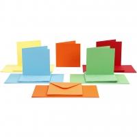 50 Doppelkarten quadratisch + 50 Umschläge im Set  (Card Making)