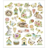 Creativ-Sticker Frühling und Ostern