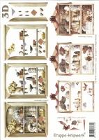 3D-Bogen Küchenregal von LeSuh (416937)