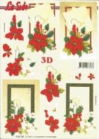 3D-Bogen Weihnachtsbrief von LeSuh (4169185)