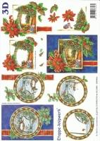 3D-Bogen Weihnachtskarte von LeSuh (4169195)