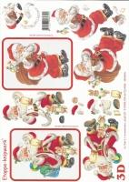 3D-Bogen Weihnachtsmann von LeSuh (4169107)