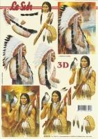 3D-Bogen Indianer von LeSuh (416975)