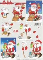 3D-Bogen Weihnachtsmann von LeSuh (416906)