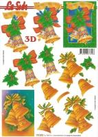 3D-Bogen Weihnachtsglocken von LeSuh (777.073)