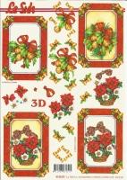 3D-Bogen Weihnachtsrahmen von LeSuh (416987)