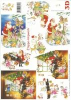 3D-Bogen Weihnachtsmann von LeSuh (4169103)