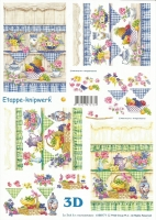 3D-Bogen Regal mit Blumen von LeSuh (4169171)