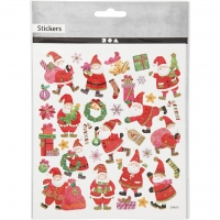 Creativ-Sticker Happy Santa Claus