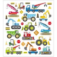 Creativ-Sticker Baustellenfahrzeuge