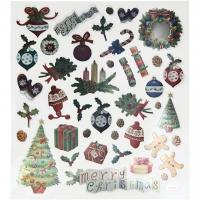 Creativ-Sticker Weihnachten Antik