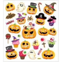 Creativ-Sticker Halloween, Kürbis