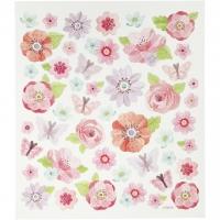 Creativ-Sticker Frühlingsblumen