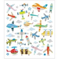 Creativ-Sticker Flugzeuge & Hubschrauber