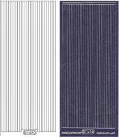 Glitter-Sticker - Rand - violett - 1149