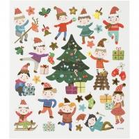 Creativ-Sticker Kinderweihnachten