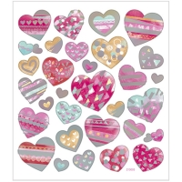 Creativ-Sticker Herzen