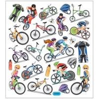 Creativ-Sticker Fahrräder