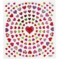 Creativ-Sticker Kleine Herzen