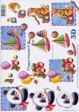 3D-Bogen Spielzeug Jungen von LeSuh (416950)