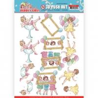 Stanzbogen - Yvonne Creations - Bubbly Girls (439)