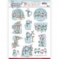 Stanzbogen - Yvonne Creations - Christmas Dreams (277)