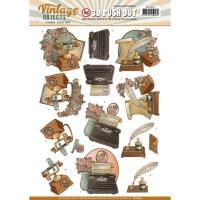 Stanzbogen - Yvonne Creations - Vintage Objects (255)