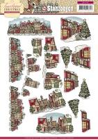 Stanzbogen - Yvonne Creations - Traditional Christmas (107)