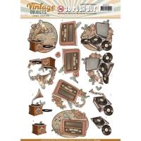 Stanzbogen - Yvonne Creations - Vintage Objects (253)