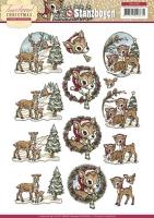 Stanzbogen - Yvonne Creations - Traditional Christmas (106)