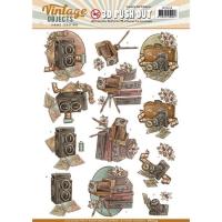 Stanzbogen - Yvonne Creations - Vintage Objects (254)
