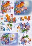 3D-Bogen Baby-Wiege von LeSuh (416982)