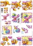 3D-Bogen Spielzeug Mädchen von LeSuh (416951)