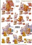 3D-Bogen Plüschtiere von LeSuh (416942)