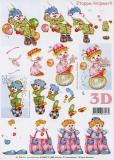 3D-Bogen Clowns von LeSuh (416947)
